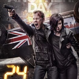 24: Live Another Day (9. Staffel, 12 Folgen) / Kiefer Sutherland / Mary Lynn Rajskub Poster