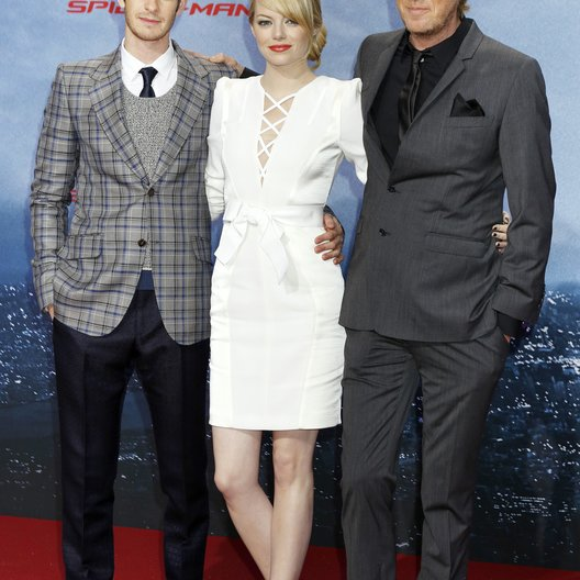 "Andrew Garfield / Emma Stone / Rhys Ifans / ""The Amazing Spider Man"" Photocall Poster"