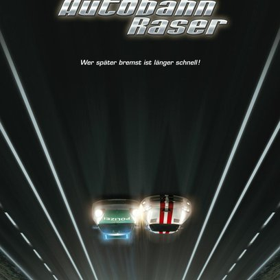 Autobahnraser Poster