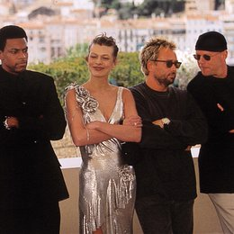 Cannes 1997 / Chris Tucker / Milla Jovovich / Luc Besson / Bruce Willis Poster