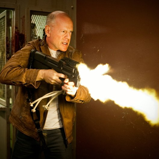 Looper / Bruce Willis Poster