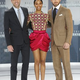Zachary Quinto / Zoe Saldana / Chris Pine / Filmpremiere Star Trek Into Darkness Poster