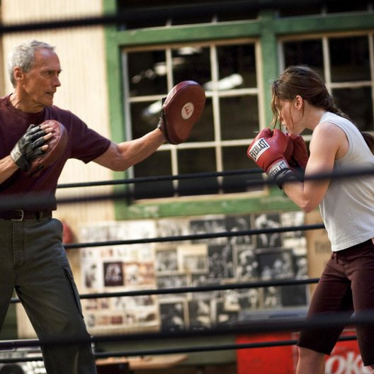 Million Dollar Baby / Clint Eastwood / Hilary Swank Poster