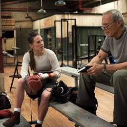 Million Dollar Baby / Hilary Swank / Clint Eastwood Poster
