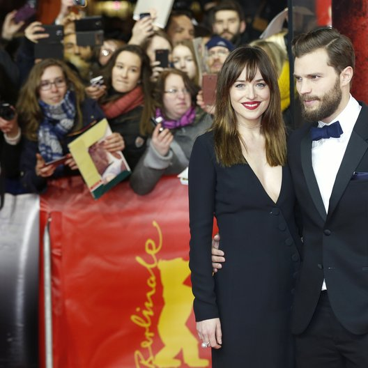 Dakota Johnson / Jamie Dornan / Internationale Filmfestspiele Berlin 2015 / Berlinale 2015 Poster