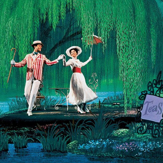 Mary Poppins / Dick van Dyke / Julie Andrews Poster