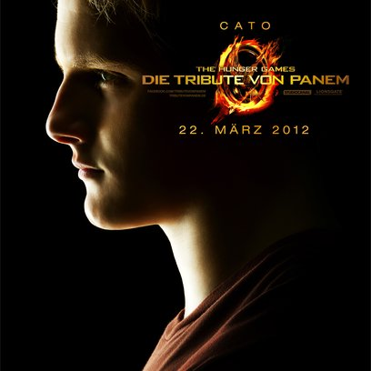Tribute von Panem - The Hunger Games, Die / Alexander Ludwig Poster