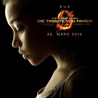 Tribute von Panem - The Hunger Games, Die / Amandla Stenberg Poster