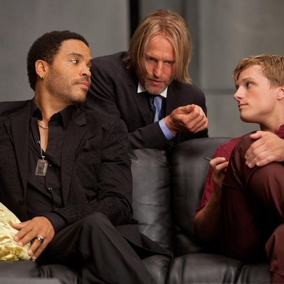 Tribute von Panem - The Hunger Games, Die / Lenny Kravitz / Woody Harrelson / Josh Hutcherson Poster