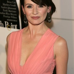 "Emily Mortimer / Premiere von ""Match Point"" Poster"