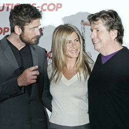 "Butler, Gerard / Aniston, Jennifer / Tennant, Andy / Photocall ""The Bounty Hunter - Der Kautions-Cop"", Berlin Poster"