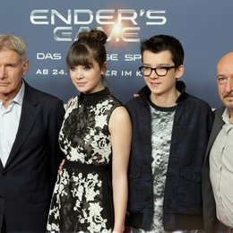 Harrison Ford / Hailee Steinfeld / Asa Butterfield / Sir Ben Kingsley / Ender's Game Photocall Poster