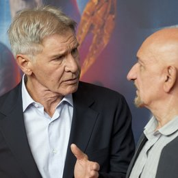 Harrison Ford / Sir Ben Kingsley / Ender's Game Photocall Poster