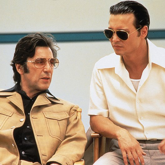 Donnie Brasco / Al Pacino / Johnny Depp Poster