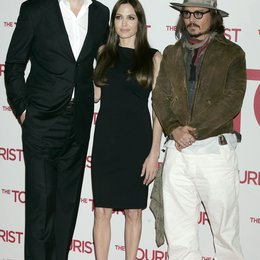 Florian Henckel von Donnersmarck / Angelina Jolie / Johnny Depp / Filmpremiere The Tourist Poster