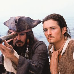 Fluch der Karibik / Johnny Depp / Orlando Bloom Poster