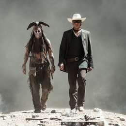 Lone Ranger, The / Johnny Depp / Armie Hammer Poster
