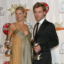 "Gwyneth Paltrow ""Distinguished Decade of Achievement in Film-Award""/ Jude Law ""Male Star ot the Year-Award"" / 30. ShoWest in Las Vegas 2004 Poster"