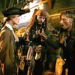 Pirates of the Caribbean - Fluch der Karibik 2 / Keira Knightley / Johnny Depp / Mackenzie Crook Poster