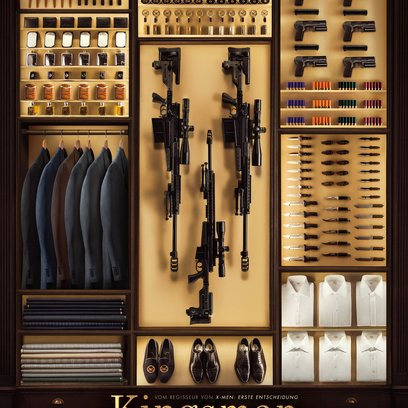 Kingsman: The Secret Service / Secret Service, The Poster