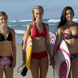 Alien Surfgirls / Jessica Green / Lucy Fry / Philippa Coulthard Poster