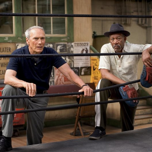 Million Dollar Baby / Clint Eastwood / Morgan Freeman Poster