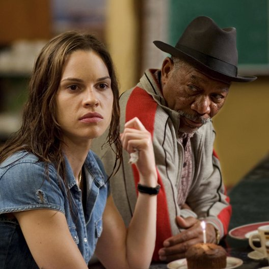 Million Dollar Baby / Hilary Swank / Morgan Freeman Poster