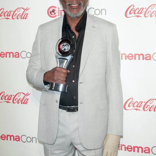 Morgan Freeman / CinemaCon 2013 Poster