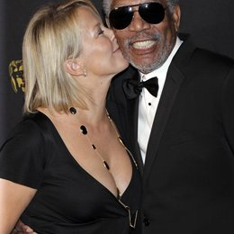 Sarah Cairns / Morgan Freeman / Bafta Awards 2011 Poster