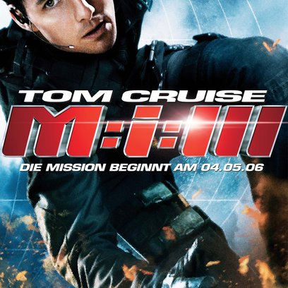 Mission: Impossible III / Mission: Impossible 3 Poster