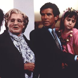 Mrs. Doubtfire - Das stachelige Kindermädchen / Robin Williams / Pierce Brosnan / Mara Wilson / Sally Field Poster