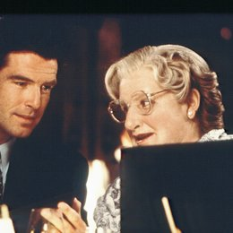 Mrs. Doubtfire - Das stachelige Kindermädchen / Robin Williams / Pierce Brosnan Poster