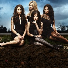 Pretty Little Liars / Pretty Little Liars (01. Staffel, 22 Folgen) / Lucy Hale Poster
