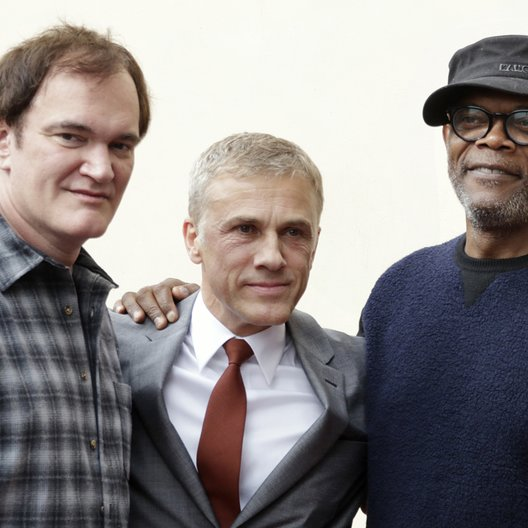 Quentin Tarantino / Christoph Waltz / Samuel L. Jackson / Stern am Hollywood Walk Of Fame Poster