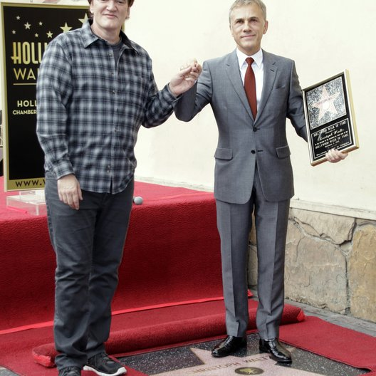 Quentin Tarantino / Christoph Waltz / Stern am Hollywood Walk Of Fame Poster
