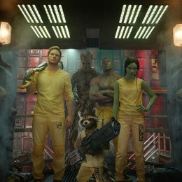 Guardians of the Galaxy / Chris Pratt / Vin Diesel / Dave Bautista / Zoe Saldana / Bradley Cooper Poster