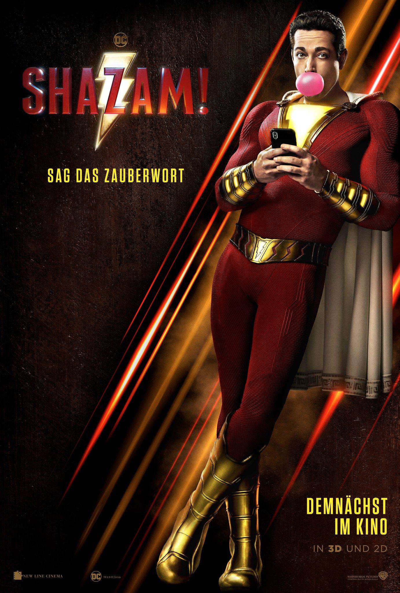 Shazam Film 2019 Trailer Kritik Kinode