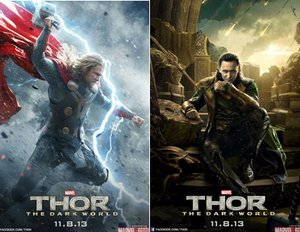 "Neue spannende Poster zu ""Thor - The Dark World"""