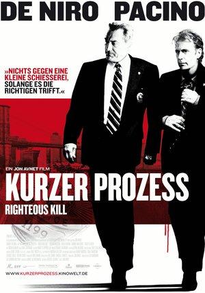 Kurzer Prozess - Righteous Kill Poster