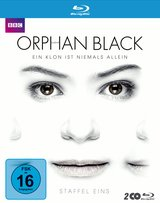 Orphan Black - Staffel eins (2 Discs) Poster