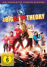 The Big Bang Theory - Die komplette fünfte Staffel (3 Discs) Poster