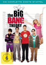 The Big Bang Theory - Die komplette zweite Staffel (4 Discs) Poster