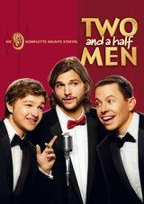 Two and a Half Men - Die komplette neunte Staffel (3 Discs) Poster