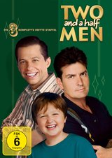 Two and a Half Men: Mein cooler Onkel Charlie - Die komplette dritte Staffel (4 DVDs) Poster