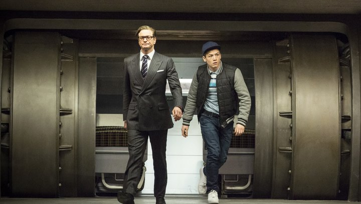 Kingsman: The Secret Service - Trailer Poster