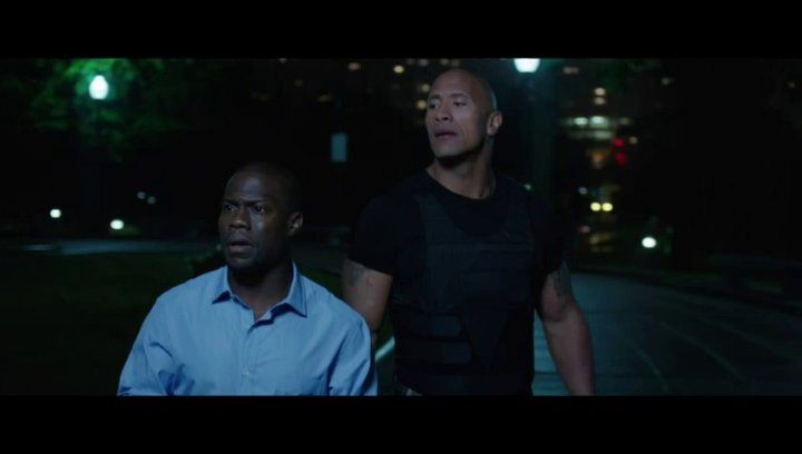 Central Intelligence - Trailer Poster