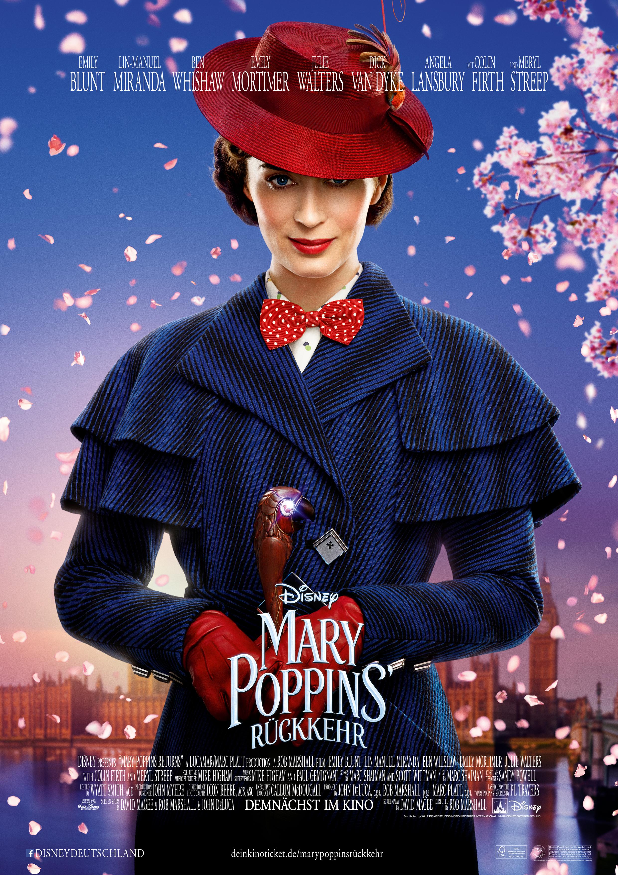 267a15e921e Mary Poppins  Rückkehr Film (2018) · Trailer · Kritik · KINO.de