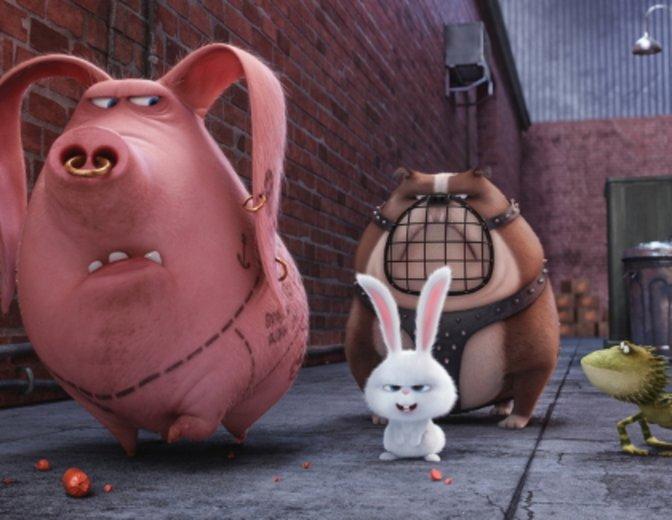 Das flauschige Kaninchen Snowball ist alles andere als harmlos. © Universal Pictures