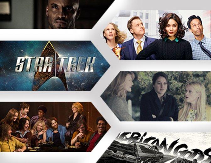 © Starz, HBO, Showtime, NBC, Netflix