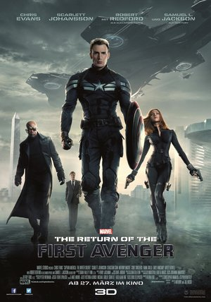 The Return of the First Avenger Poster